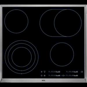 Sklokeramická varná deska AEG černá HK654070XB