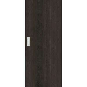 Interiérové dveře Naturel Ibiza posuvné 60 cm jilm antracit posuvné IBIZAJA60PO