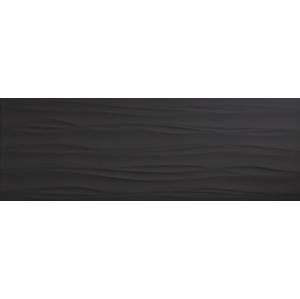 Obklad Venus Idole graphite waves 25x70 cm perleť IDOLEWGF