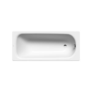 Obdélníková vana Kaldewei Saniform Plus 160x73 cm smaltovaná ocel Perl-effekt,Antislip alpská bílá 112530003001