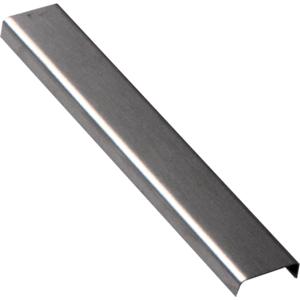 Lišta dekorační nerez kartáčovaná, délka 200 cm, výška 6,5 mm, šířka 20 mm, LACERO22