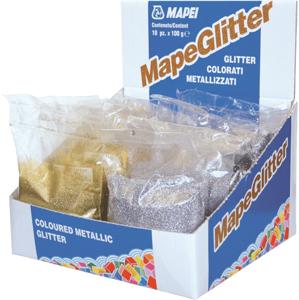 Třpytky Mapei Mapeglitter stříbrná 0,1 kg R2T MAPEGLITTERST1