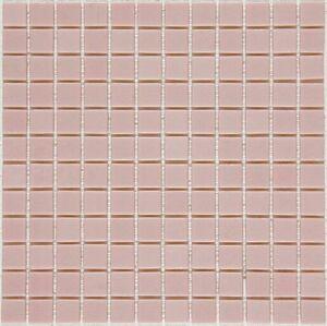 Skleněná mozaika Mosavit Monocolores Rosa 30x30 cm lesk MC601
