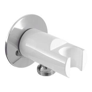 Držák sprchy RAV SLEZÁK pevný bílá/chrom MD0614RBC
