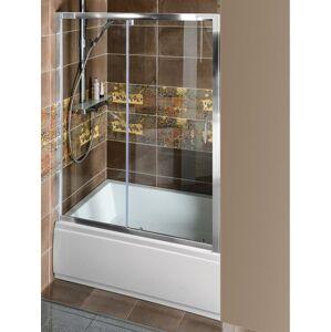 Sprchové dveře 140x200 cm Polysan DEEP chrom lesklý MD1415