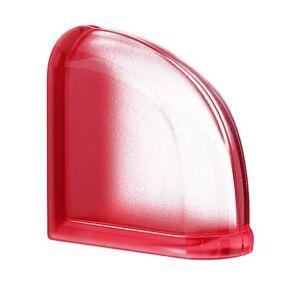 Luxfera Glassblocks MiniGlass červená 15x15x8 cm sklo MGSCECHE