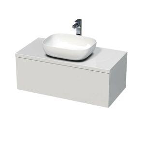 Koupelnová skříňka pod umyvadlo Naturel Ratio 100x36x50 cm bílá mat ND1001Z36PU.9016M