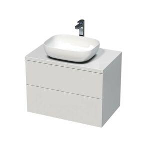 Koupelnová skříňka pod umyvadlo Naturel Ratio 80x56x50 cm bílá lesk ND802Z56PU.9016G