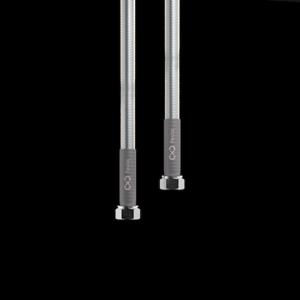 """Flexira xConnect Aqua Plus připojovací hadice z nerezového vlnovce G3/8""""-G3/8"""" 40cm"""