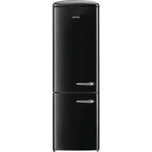 Volně stojící chladnička Gorenje ORK192BK černá