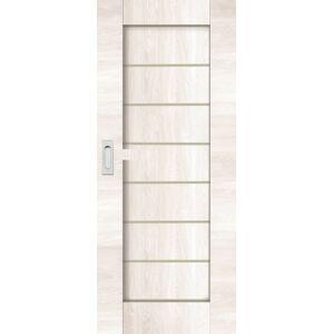Interiérové dveře Naturel Perma posuvné 60 cm borovice bílá posuvné PERMABB60PO