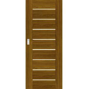 Interiérové dveře Naturel Perma posuvné 80 cm ořech karamelový posuvné PERMAOK80PO