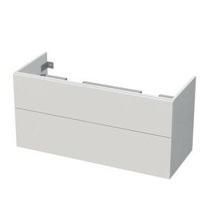 Koupelnová skříňka pod umyvadlo Naturel Ratio 115x56x44 cm bílá mat PS120D2Z56PU.9016M