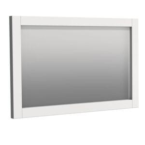 Zrcadlo Naturel Ratio 110x70 cm bílá matná RAMZR.110.9016M