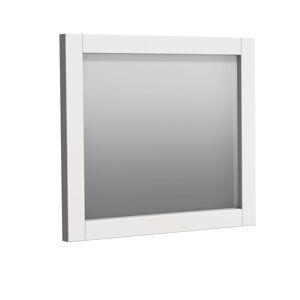 Zrcadlo Naturel Ratio 80x70 cm bílá matná RAMZR.80.9016M