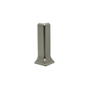 Roh k soklu vnější nerez mat silver, výška 60 mm, REZCTACS605