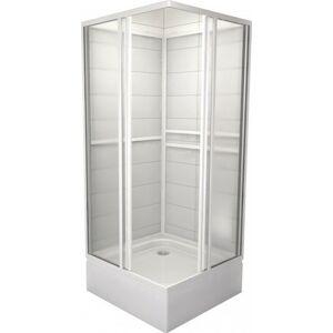 Sprchový box čtverec 90x90x185 cm Teiko SBOXKH bílá V323090N51T12001