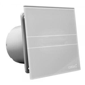 CATA e100 GST sklo časovač stříbrný