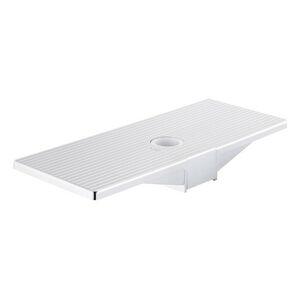 SIKO Univerzální posuvná polička pro tyče a sprchové sloupy, ABS/chrom SIKOBSPT41