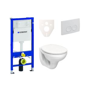 WC+sedátko Kolo+Geberit Duofix+Delta21