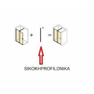 Nikový profil pro sprchové dveře Huppe Strike New New SIKOKHPROFILDNIKA