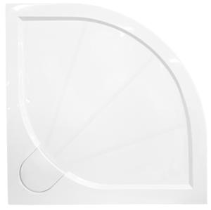 Sprchová vanička čtvrtkruhová Siko Limcc 100x100 cm litý mramor SIKOLIMCC100S