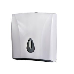 Zásobník papírových ručníků Sanela bílá SLDN03