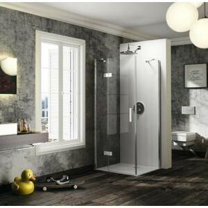 Sprchové dveře 140x200 cm levá Huppe Solva pure chrom lesklý ST0616.092.322