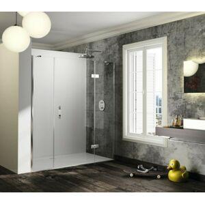 Sprchové dveře 120x200 cm pravá Huppe Solva pure chrom lesklý ST1502.092.322
