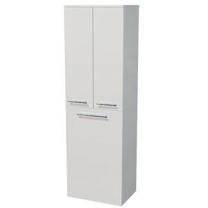 Koupelnová skříňka vysoká Naturel Ratio 50x162x35 cm bílá mat SV502DK9016M