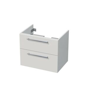 Koupelnová skříňka pod umyvadlo Naturel Ratio 69,5x56x46 cm bílá mat TF752Z56.9016M