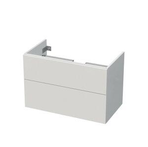 Koupelnová skříňka pod umyvadlo Naturel Ratio 84,5x56x46 cm bílá lesk TF902Z56PU.9016G