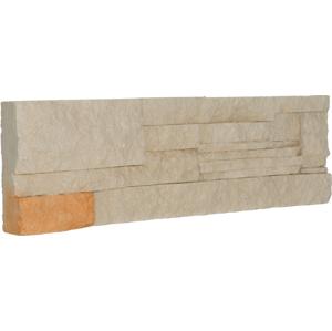 Obklad Vaspo Kámen lámaný béžová 10,7x36 cm V53003