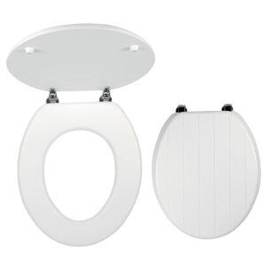 Wc prkénko Novaservis MDF bílá WC/PROVENCE