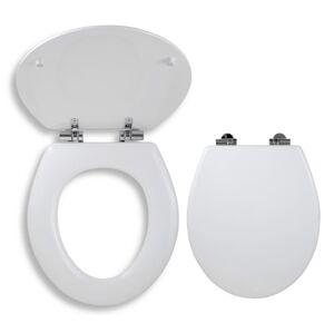 Wc prkénko Novaservis dřevo bílá WC/SOFTLYRA