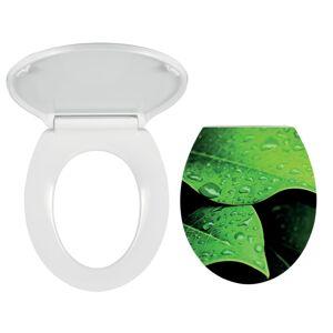 Wc prkénko Novaservis duroplast bílá/zelená WC/SOFTNATURE