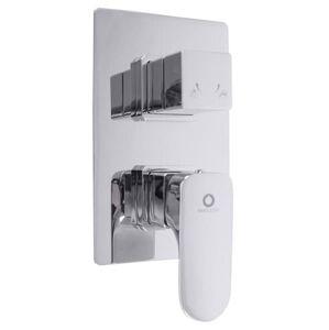 Sprchová baterie RAV SLEZÁK YUKON s přepínačem chrom YU186K