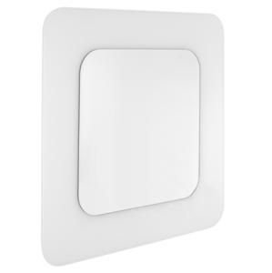 Zrcadlo Naturel Pavia Way 75 cm bílá ZAP7575W