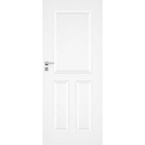 Interiérové dveře Naturel Nestra pravé 70 cm bílé NESTRA170P